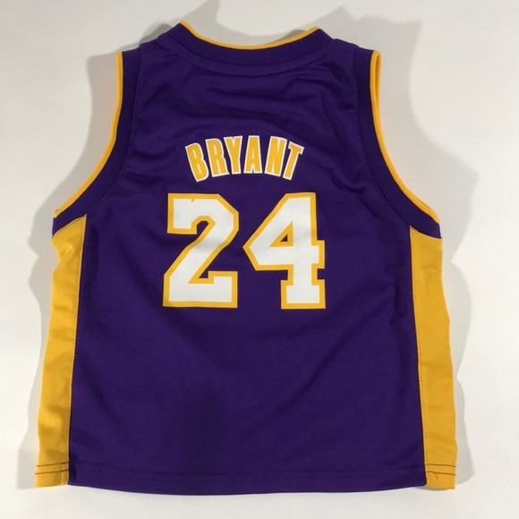 LA Lakers adidas Kobe Bryant Jersey 4T Kids #24